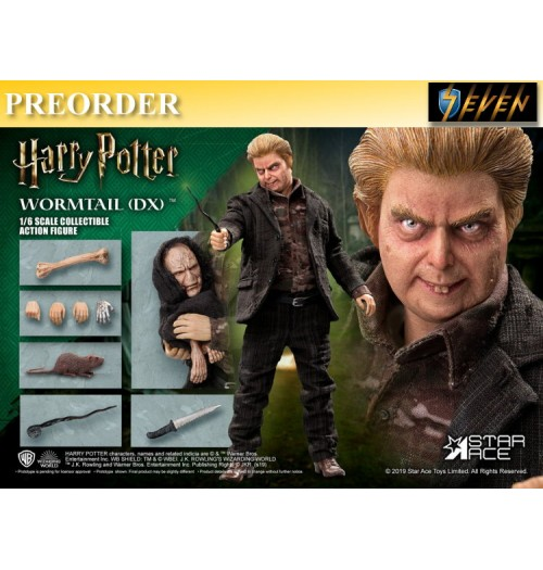 "PREORDER: Star Ace 1/6 Peter Pettigrew ""Wormtail"": DX Boxset"